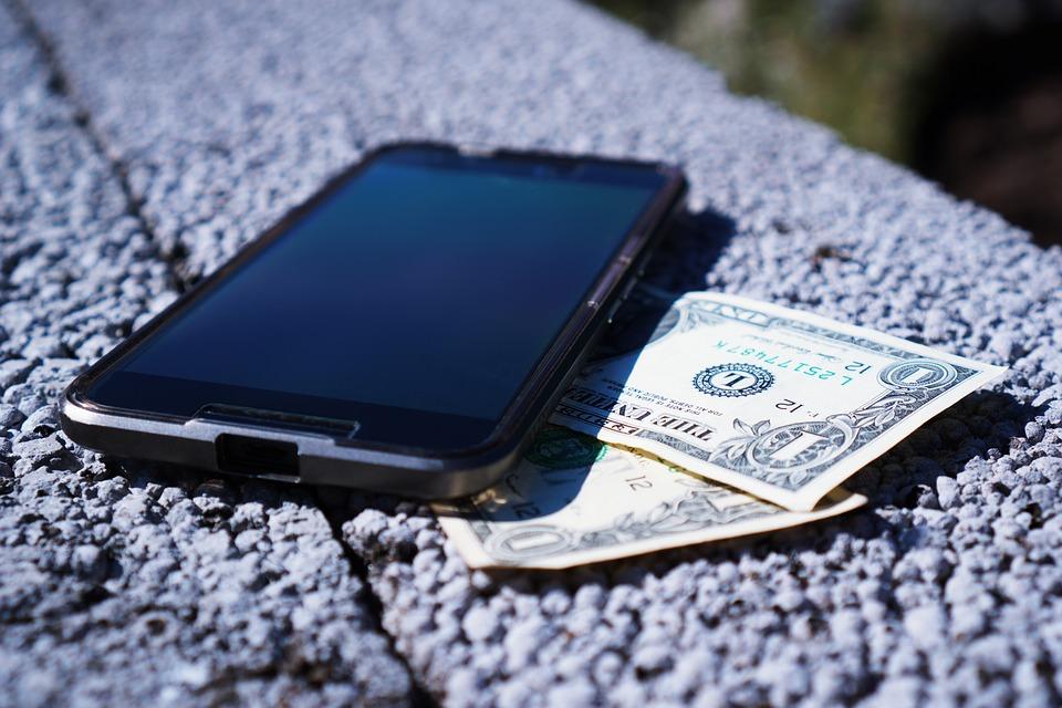 dolary pod telefonem